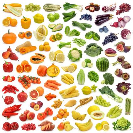 Овощи и фрукты на картинках для детей 2